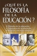 �Qu� es la Filosof�a de la Educaci�n?