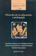 Filosof�a de la educaci�n y pedagog�a.