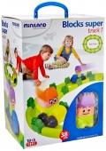 Blocks super track 1 (38 piezas)