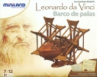 Barco de palas de Leonardo da Vinci