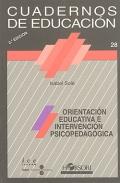 Orientación educativa e intervención psicopedagógica. Cuadernos de educación.