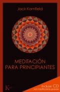 Meditaci�n para principiantes. (Incluye CD con meditaciones guiadas)