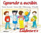 Aprendo a escribir. 1,2 y 3