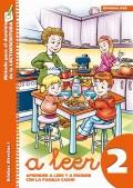 A leer 2. Aprender a leer y a escribir con la familia Cacho. Silabas directas I: letras m, p, n, l, t.