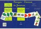 Baraja - Dominó de fonemas. Serie 4.