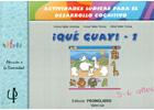 ¡Qué guay! - 1 Actividades lúdicas para el desarrollo cognitivo. 5-6 años