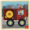 Puzzle cami�n de bomberos