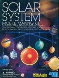 Juego para hacer un móvil del sistema solar (Solar System)