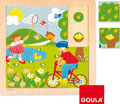 Puzzle primavera 16 piezas