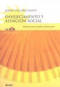 Envejecimiento y atención social. Elementos para su análisis y planificación.