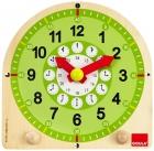 Reloj escolar de madera