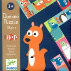 Domino puzzle animales (28 piezas)