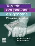 Terapia ocupacional en geriatr�a: principios y pr�ctica.