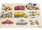 Puzzle de veh�culos de emergencia