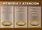 Memoria y atenci�n: Estimulaci�n cognitiva