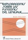 Exploraciones sobre las funciones del lenguaje