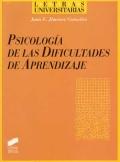 Psicolog�a de las dificultades de aprendizaje.