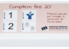 Contamos hasta 20! Material educativo para trabajar la numeraci�n de forma l�dica