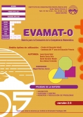 EVAMAT-2. Evaluacin de la Competencia Matemtica.