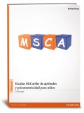 MSCA, Escala McCarthy de aptitudes y psicomotricidad para ni�os en maleta de viaje.
