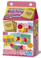 Fun Biscuit-Shaped Matching Game (juego de emparejamiento)