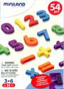 N�meros magn�ticos (162 piezas)