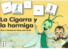 La cigarra y la hormiga. Coleccin pictogramas 18.