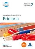 Educaci�n primaria. Temario volumen 2. Cuerpo de maestros.