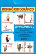 Domin� ortogr�fico. Serie 1.