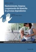 Mantenimiento, limpieza y organización del domicilio de personas dependientes