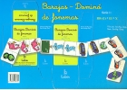 Baraja - Dominó de fonemas. Serie 1.