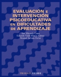Evaluaci�n e intervenci�n psicoeducativa en dificultades de aprendizaje.