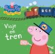 Viaje en tren. Peppa Pig.