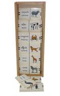 Domino de animales (madera)