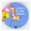 �Sabes si una jirafa....