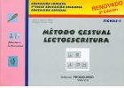 M�todo gestual lectoescritura. Fichas - 1. Educaci�n infantil, 1� ciclo de educaci�n primaria, educaci�n especial.