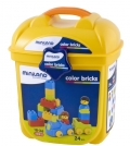 Cubos de colores (color bricks) 24 piezas