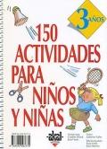 150 actividades para ni�os y ni�as de 3 a�os.