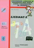 EJERMAT - 5. Mediterr�neo. Ejercicios de matem�ticas para repaso, apoyo y recuperaci�n. Educaci�n Primaria.