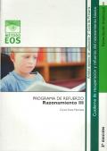 Razonamiento III. Programa de recuperaci�n y refuerzo del razonamiento b�sico. Programa de refuerzo.