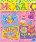 Dibujos en mosaico (Mariposa, magdalena, mariposa y flor)
