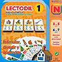 Lectodil 1. Baraja alfabtica. Juego de iniciacin lectora.