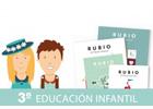 Pack especial Rubio el arte para de aprender. 3º Educación Infantil
