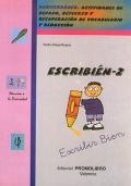 ESCRIBI�N-2. Mediterr�neo. Actividades de repaso, refuerzo y recuperaci�n de vocabulario y redacci�n.