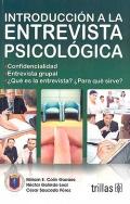 Introducci�n a la entrevista psicol�gica.