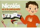 Nicol�s va a la peluquer�a. Colecci�n Pictogramas 4.