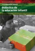 Didáctica de la educación infantil. Servicios socioculturales y a la comunidad. CFGS Educación Infantil.