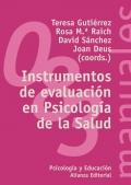 Instrumentos de evaluaci�n en Psicologia de la Salud.