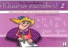 Yo tambi�n �Quiero escribir! 2. Programa para aprender a escribir los grafemas y palabras con letra enlazada. Grafemas: s - p - l - m - t - ca, co, cu - que, qui - n - d.