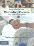 Programa anual de motricidad y memoria para personas mayores (con CD).
